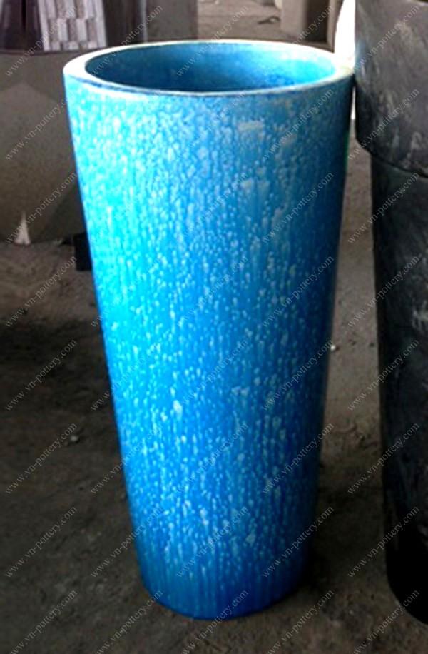 Tall Concrete Planters