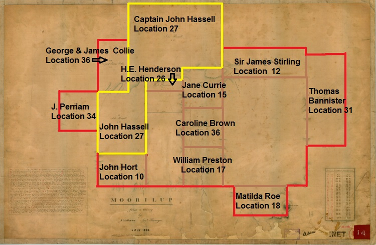 Moorilup Locations - Hillman 1840