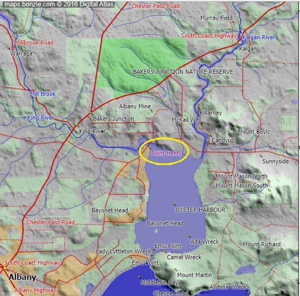 point-henty-at-king-river-bonzle-map
