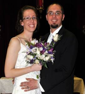 MARRIED ... The happily married couple was wed at Cairo United Methodist Church on December 1.