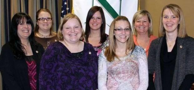 Williams County/Morenci, MI ... Nikole Poorman, Reba Konoff, Teresa Thompson, Brooke Crist, Justine Davis, Vicki Williams and Brittany Hoffman