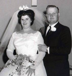 Steve and Sandy (O'Neal) Hays of Montpelier are celebrating their 50th wedding anniversary. They were united in marriage on March 2, 1963 at the West Bridgewater E.U.B. church by the Rev. Marion Hanover. Steve and Sandy are the parents of: Sharla (Lindy) Kirkingburg of Montpelier, Brian (Lori) Hays of Wauseon, and Jodi Hays of Montpelier. They also have five grandchildren. The family is hosting an open house in their honor on March 2nd from 5:30 p.m. to 9:00 p.m. at the Montpelier Moose.