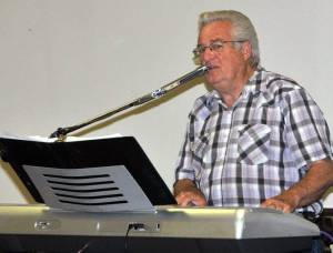 MUSICAL ENTERTAINMENT … Paul O'Brien provided several delightful musical selections, including the popular sing-along You Are My Sunshine, for guests attending the June 2013 Birthday and Anniversary celebration at Montpelier Senior Center.
