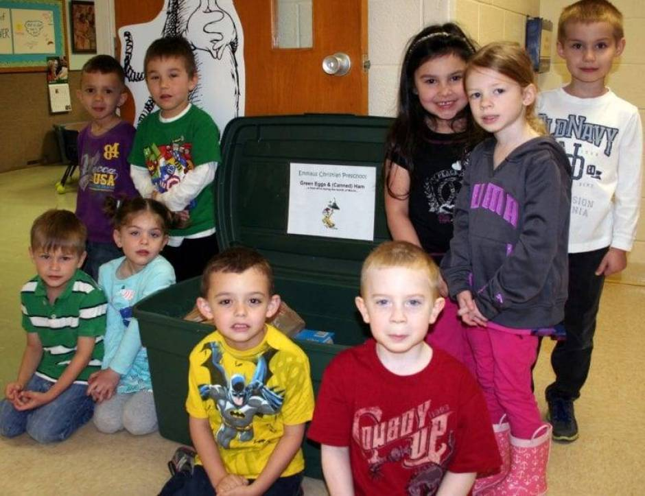 Green Eggs & Ham Food Drive Wauseon WEB