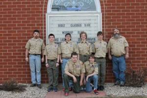 Edon BSA Troop 5 May2015 - TIME SENSITIVE - PHOTO PROVIDED