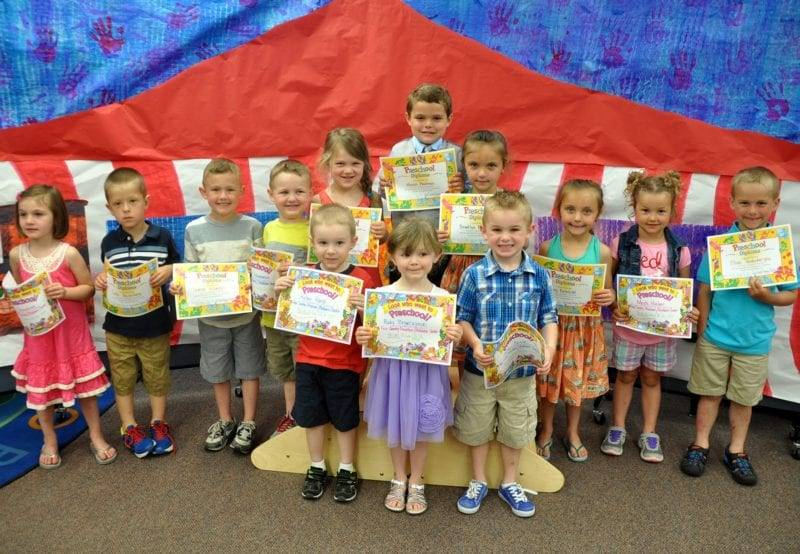 The Students At Four County Career Centers Early Childhood Education Class Recently Held Preschool Graduation For Children Enrolled During 2014 2015