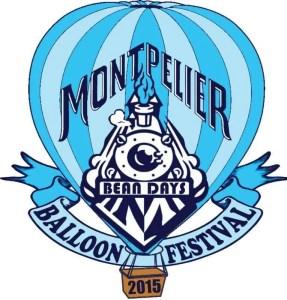 Montpelier bean days balloon 2015 logo