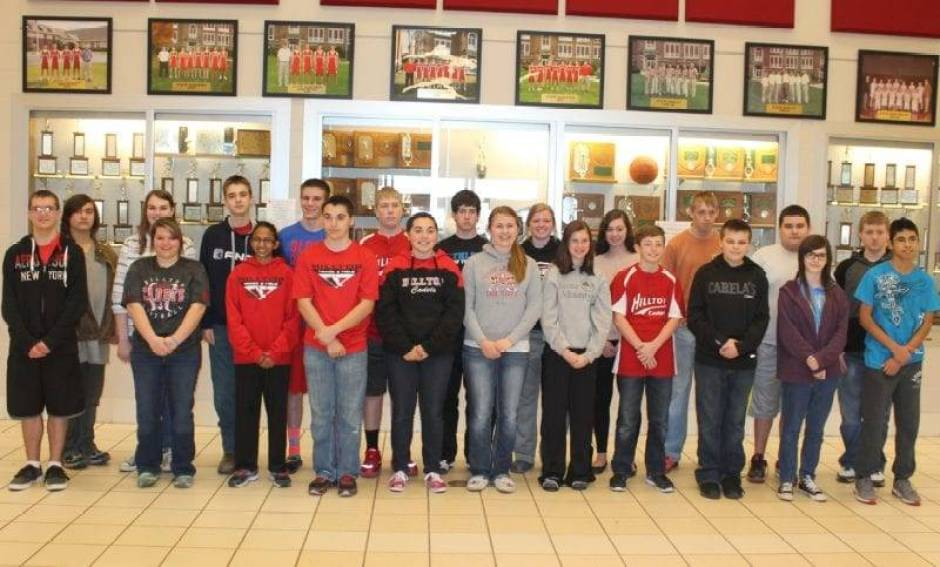 Hilltop students of month WEB