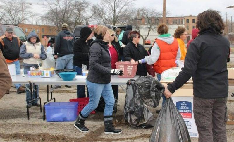 Wauseon Woman, Swanton American Legion Team Up To Help Toledo's Homeless