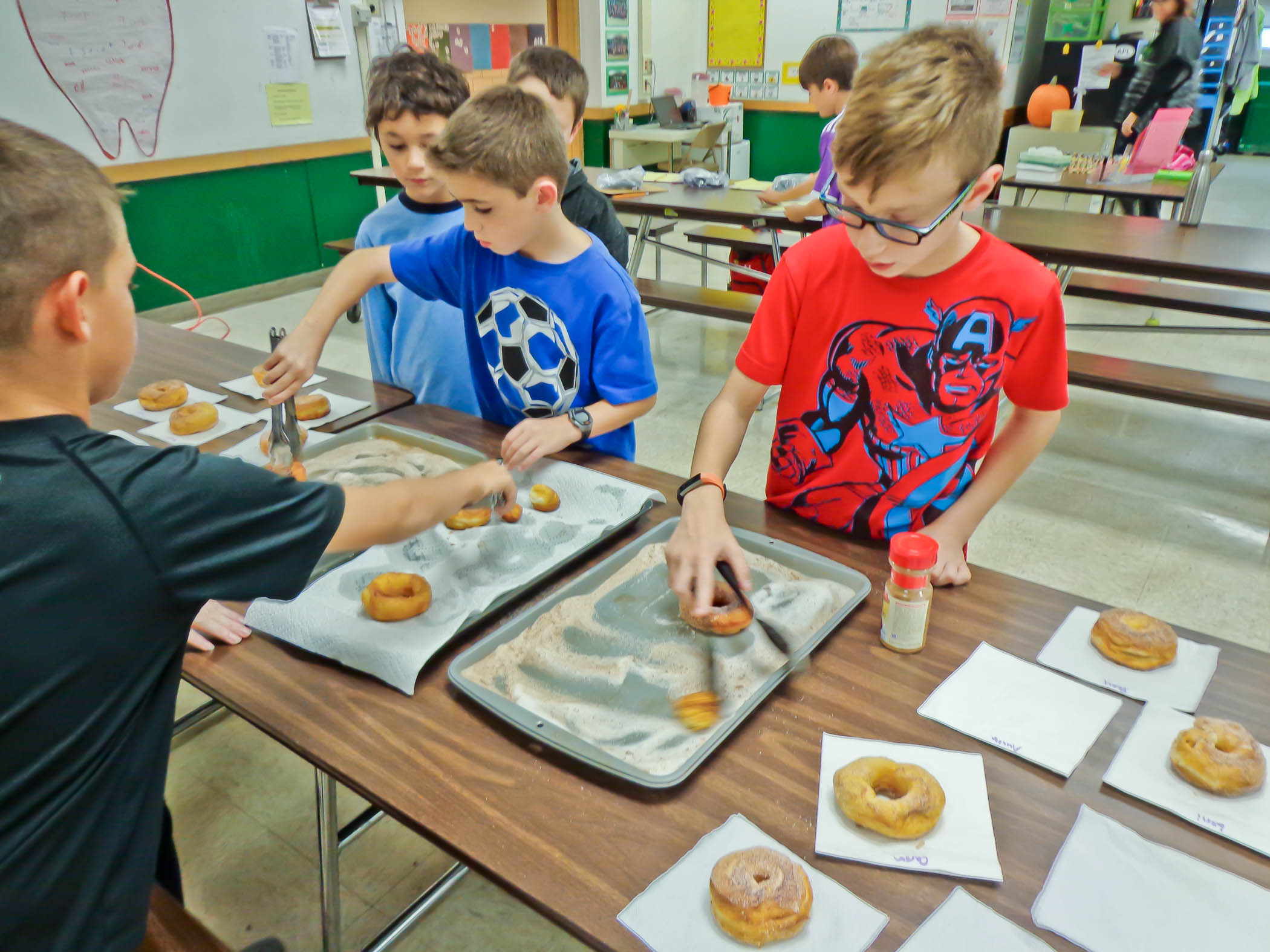 Sequencing Through Doughnuts