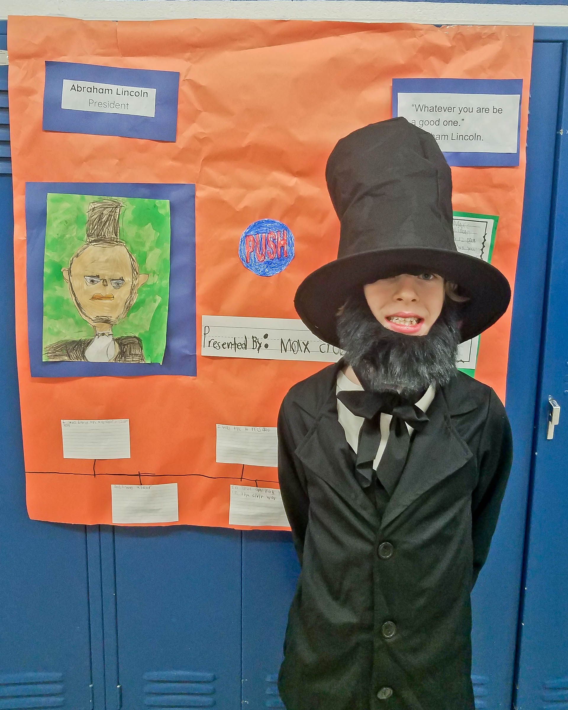 Second Graders Create Wax Museum At Redwood Elementary