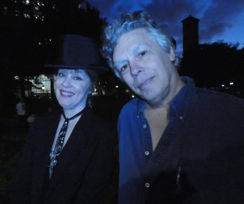 Suzanne Vega and David Massengill - fast friends from the 1980s Fast Folk scene in the Village
