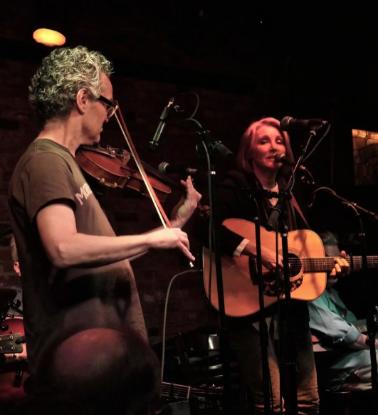 Diana Jones with special guest David Mansfield at Talkin' New York Folk Revival