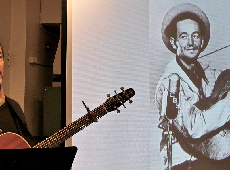 Woody Guthrie and 'Old Man Trump' – The Village Trip hosts Will Kaufman