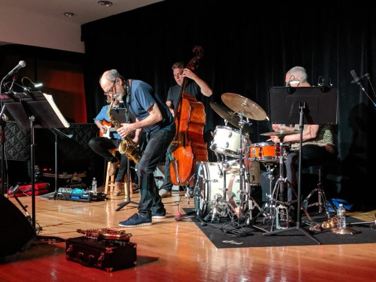 The New School All-Stars play Jazz in the Village (Liz Thomson)
