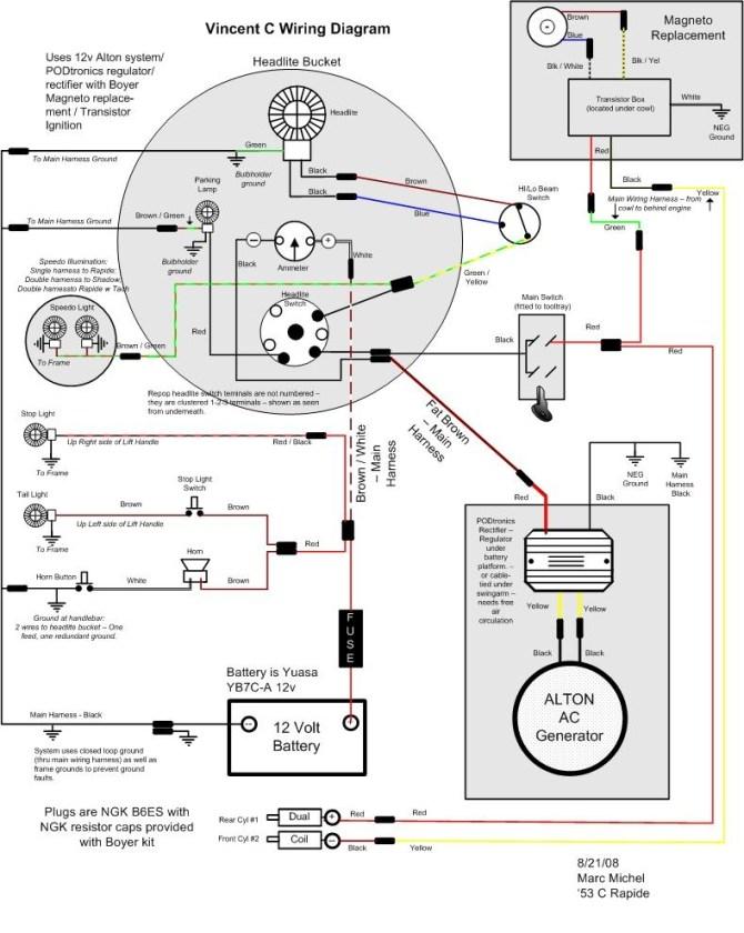 old ac generator wiring diagram  vw engine wiring diagram