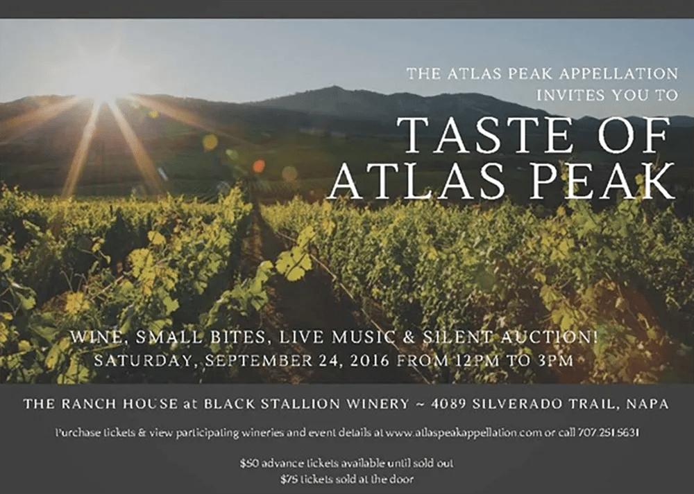 Taste of Atlas Peak 2016