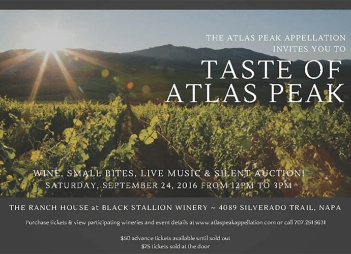 Taste of Atlas Peak 2016