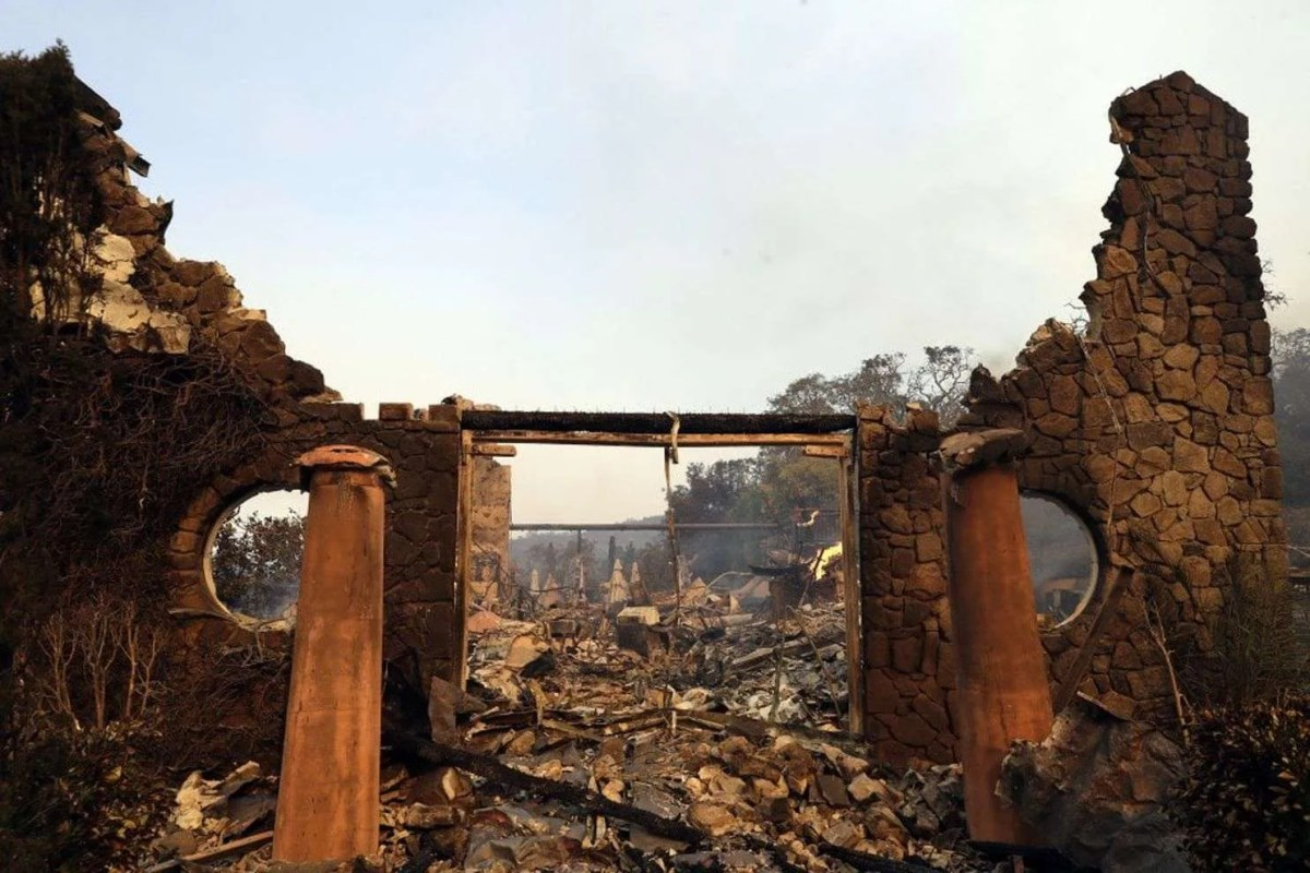 Catastrophic Wildfires Ravage Northern California Wine Country including Napa, Sonoma and Mendocino Counties in the mist of 2017 Harvest