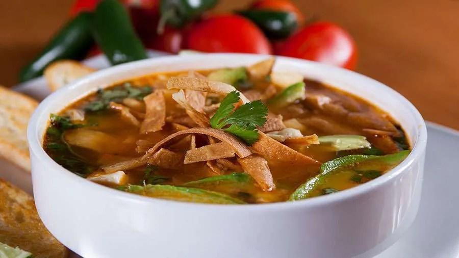 Iberostar Mexico's Tortilla Soup