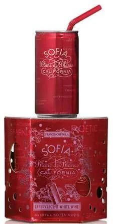 Sofia Blanc de Blancs California Sparkling Wine Coppola Family