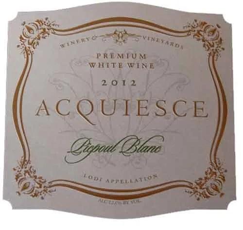 Acquiesce Winery & Vineyards