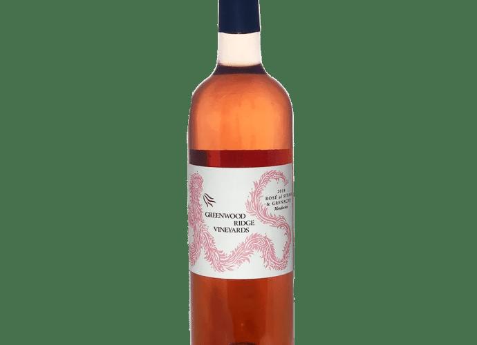 Greenwood Ridge Vineyard Rose 2018