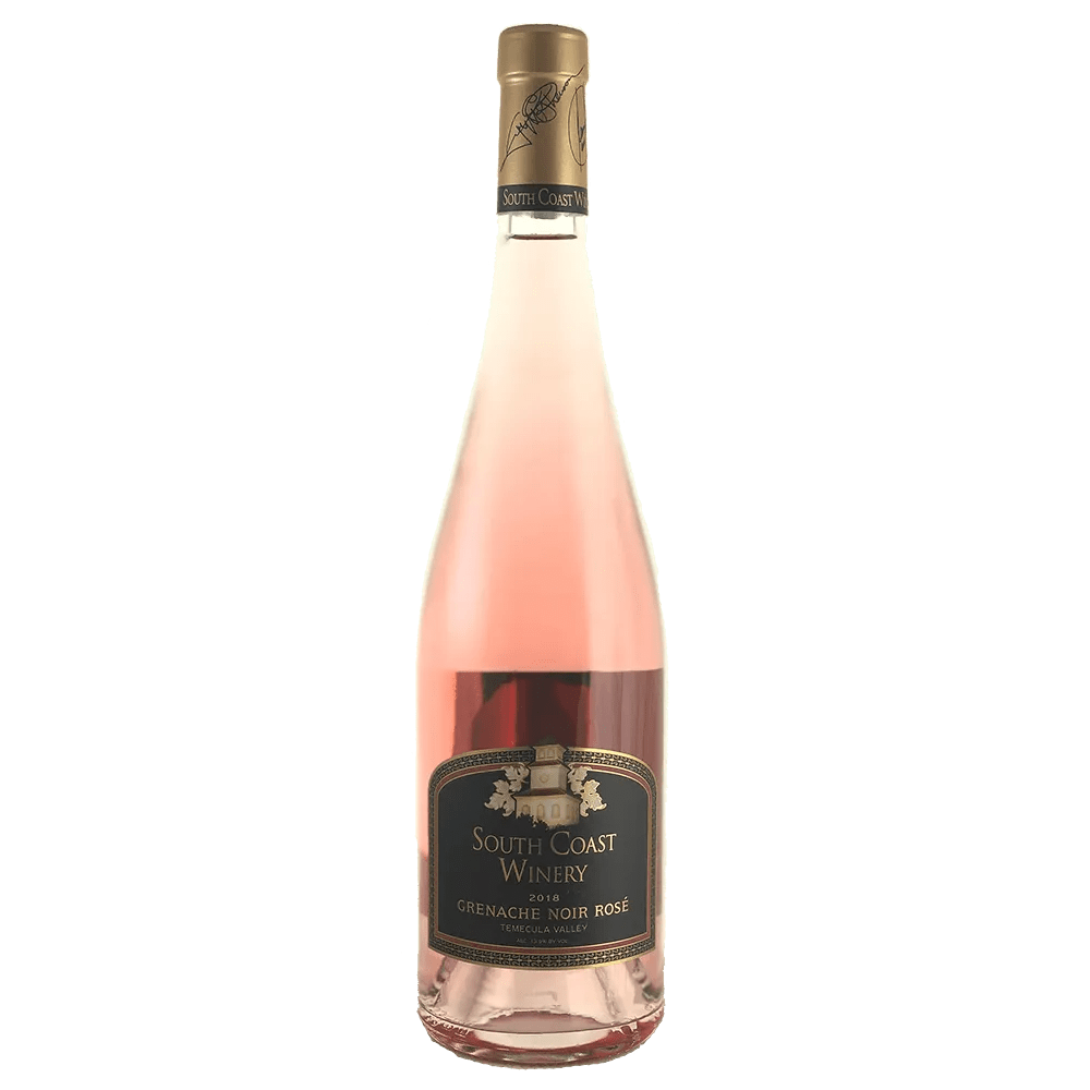 ROSÉ ALL MAY: 2018 South Coast Winery Grenache Noir Rosé