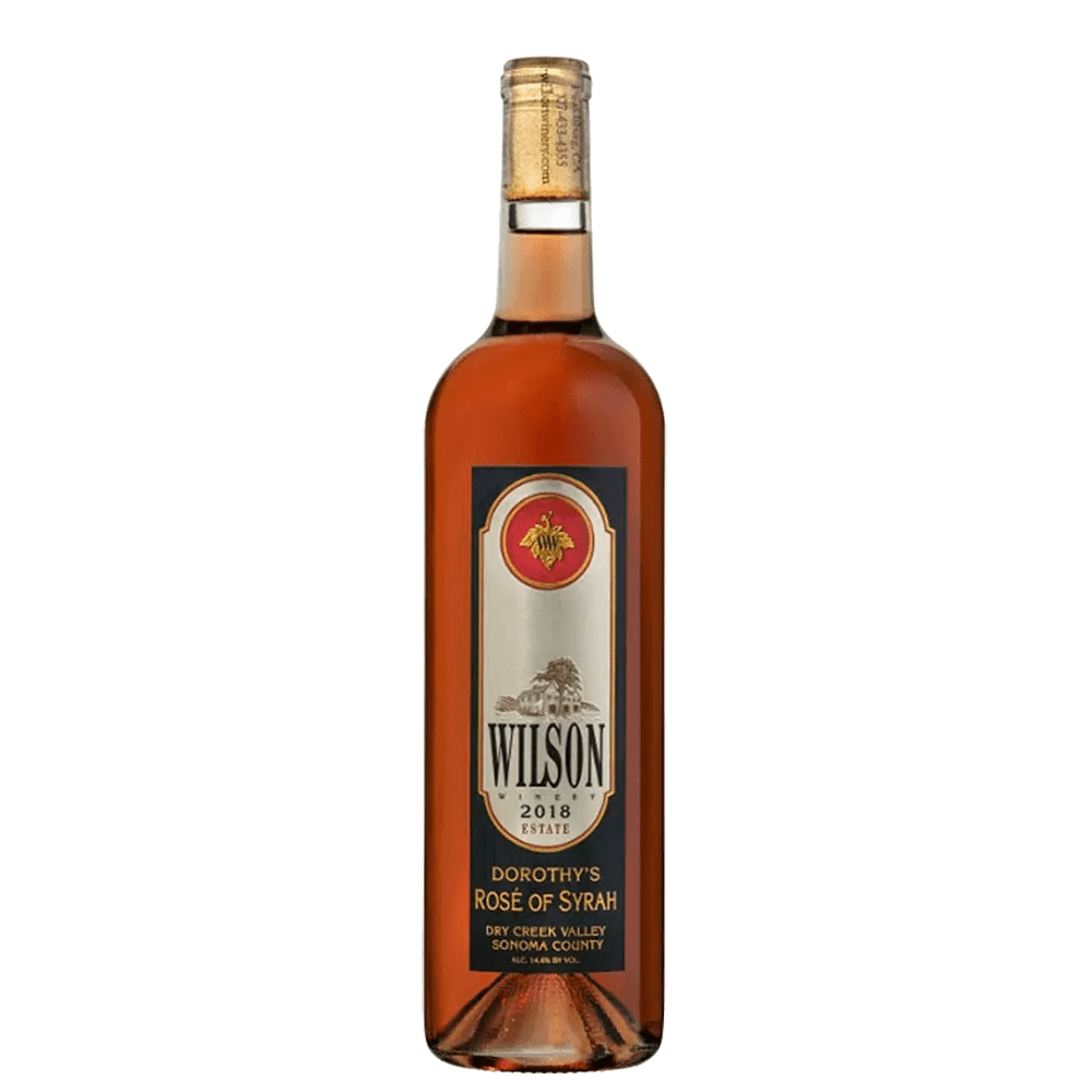 ROSÉ ALL MAY: 2018 WILSON WINERY DOROTHY'S ROSÉ OF SYRAH