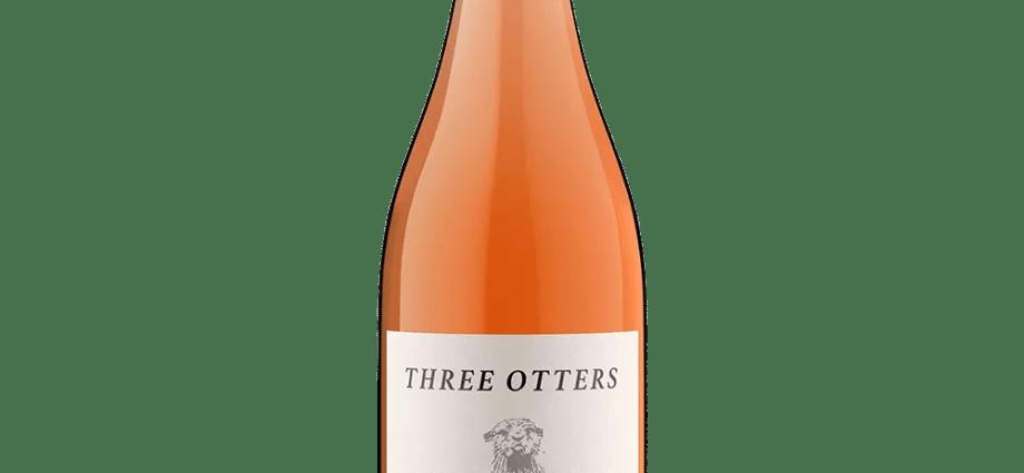 Three Otters Rose Bottle
