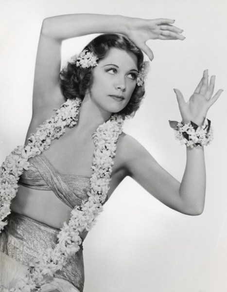 Eleanor Powell in Honolulu
