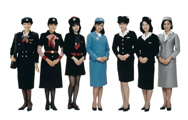 Image result for JAL cabin crew uniform