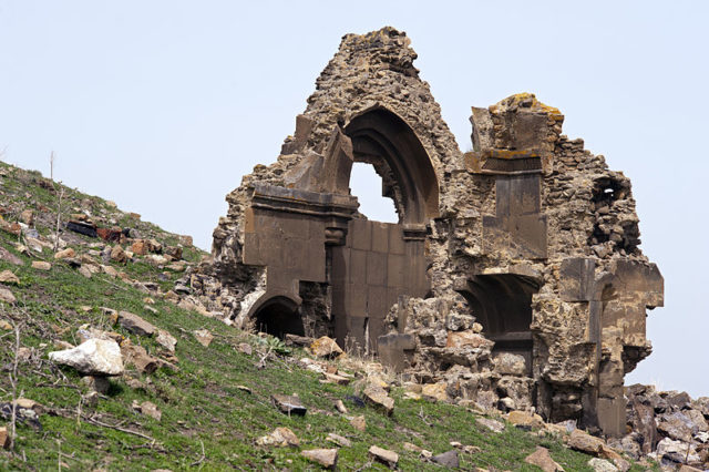 Ruins of the Mausoleum of the Child Princes in citadel. Source