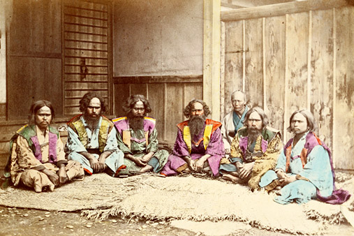 a-group-of-ainu-people-between-1863-and-early-1870s