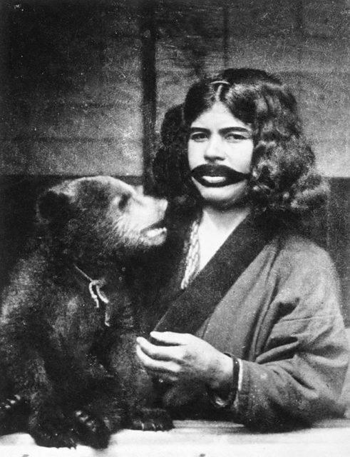 A bear's foster mother.