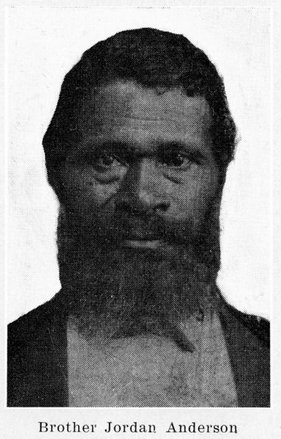 Image of freed slave: Jordan Anderson