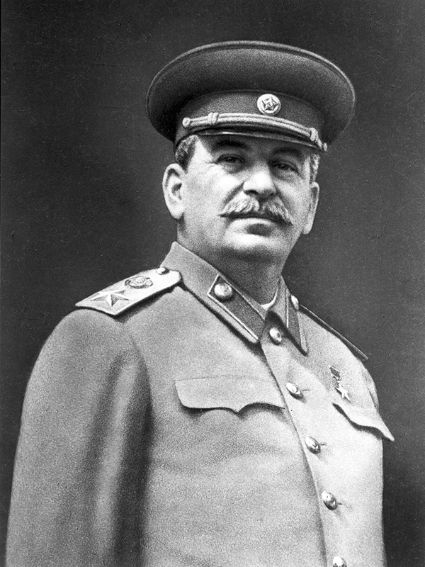 Joseph Stalin - Russian revolutionary and Soviet political, state, military and party leader.
