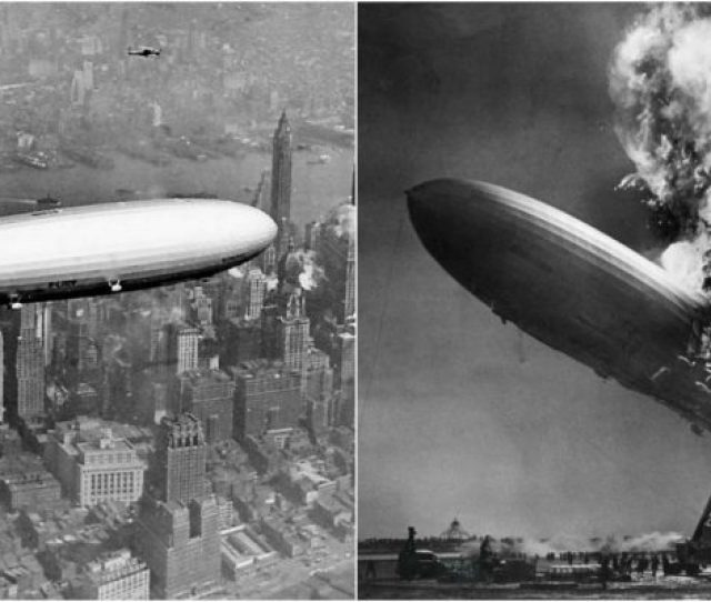 80 Years Of Speculation And Conspiracy Theories The Hindenburg Disaster Of 1937 That Killed 36 People On Board The Giant Airship