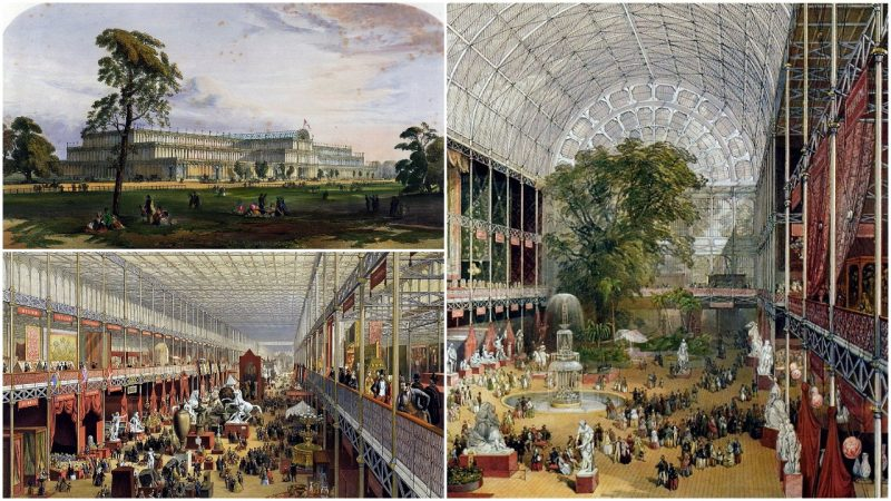 The Crystal Palace Which Hosted The 1851 Great Exhibition