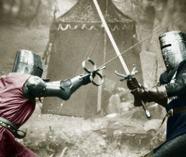 The Black Knight From Monty Python The Holy Grail Was Inspired By A True Story