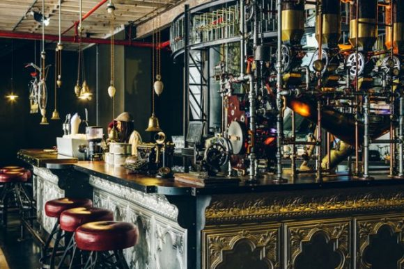 Truth Coffee, a steampunk café in Cape Town. Photo Courtsey http://www.yatzer.com/ CC BY-SA 4.0