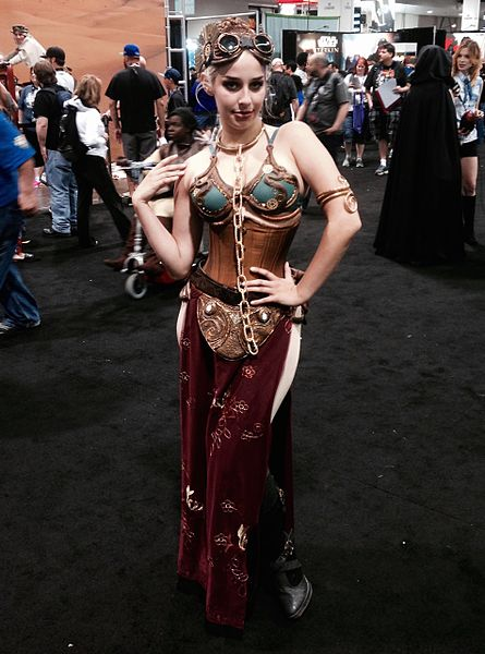 steampunk Princess Leia, Star Wars celebration 2015. Photo by Brian CC BY 2.0