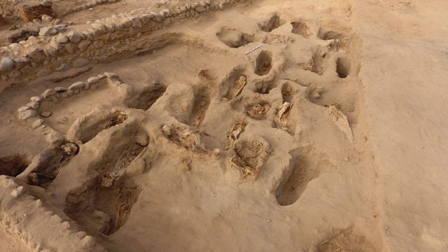 Peru child sacrifice site