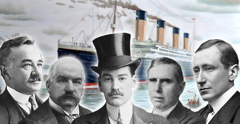 Men who would've been on the Titanic