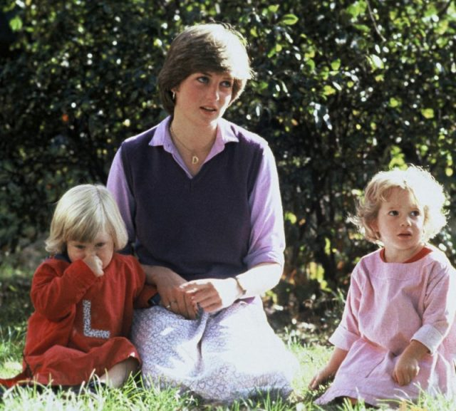 Diana Spencer at Young England Kindergarten in September 1980, just before her engagement to Prince Charles, Prince of Wales, was announced.