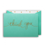 Tickle Me Thank-You Card