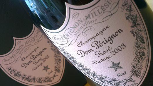Dom Perignon Rose Champagne 2003