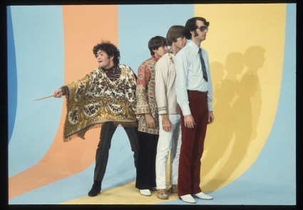 Monkees rainbow set-Aug 2, 1967-small
