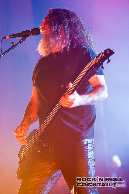 Slayer photographed by Jason Miller