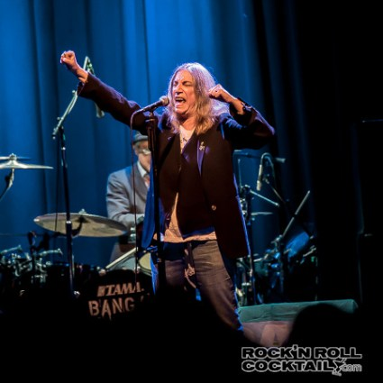 Patti Smith at The Fillmore Photographed by Jason Miller-4